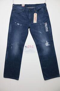 Levi's 514 Straight Destroy (Code N685) tg.52 W38 L32 Jeans Neuf Streetwear