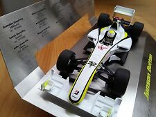 MINICHAMPS GPL Brawn BG001 modèle F1 JENSON BUTTON champion du monde 2009 1:18th