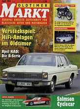 6278OM Oldtimer Markt 1994 1/94 Metralla Lotus Europa Indian NSU-Fiat Neckar