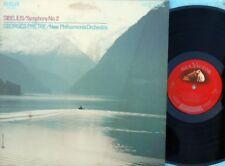 Georges Prêtre ORIG US LP Sibelius: Symphony No. 2 RCA Red Seal LSC3063 NM '69