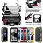 Heavy Duty Shock proof Waterproof Bumper Metal Cover Case Apple Samsung 5 6 7 8+