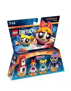 Lego Dimensions Powerpuff Girls (All Formats) Brand New - Team Pack - REDUCED