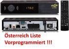 Full HD Sat Receiver Vorprogrammiert Österreich Liste mit ORF Liste HD Scart