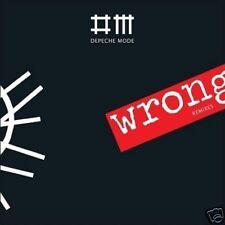 DEPECHE MODE 'WRONG' BRAND NEW 5-TRACK MIXES CD 2