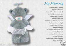 MUMMY GIFT (personalised laminated poem)