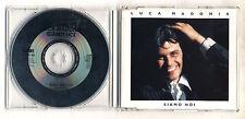 Cd PROMO LUCA MADONIA Siamo noi - cds cd singolo single 1993 Denovo