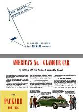 Packard 1946 - New Packard Clipper for 1946 - a Special Preview for Packard Owne