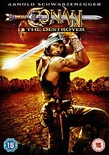Conan The Destroyer (DVD) (NEW) (SCHWARZENEGGER) (REGION 2)