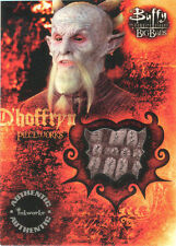 "Buffy Big Bads - PW3 Robe Worn By Andy Umberger as ""D'Hoffryn"" Costume Card"