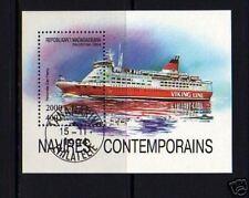 MALAGASY - 1993 - MODERN SHIPS - CAR FERRY- S/SHEET!