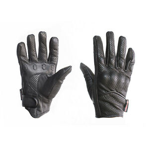 New Motorbike Touch Screen Gloves Short Style Summer A Grade Goat Leather Gloves