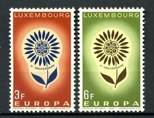 Luxembourg 1964 SG # 744-5 Europa neuf sans charnière set #a 51654