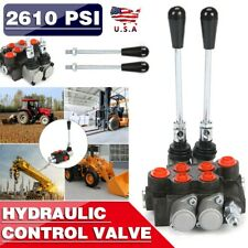 11gpm 2 Spool Hydraulic Control Valve Double Acting Tractors Loaders Monoblock