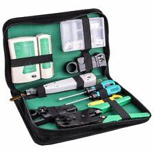 Kit de testeur de câble réseau RJ45RJ11Cat5Fil Pince à sertir Stripper avec