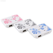 00DF Fashoin Mini Clip MP3 Music Media Player TF/SD blue and white porcelain