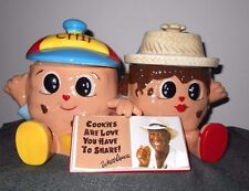 "Collector  ""Wally Amos""  Cookie Jar  1 st in Series"