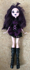Monster High Elissabat Frights Camera Action Vampire Doll Used