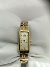 Citizen Women's Vintage Quartz Gold Plated Bracelet Watch 5421-S96460 ---- 1980
