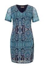 Kleid Türkis-blau Von Triangle By s.Oliver 52