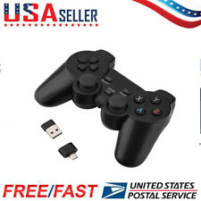 2.4GHz Bluetooth Wireless Smart Gamepad Game Controller For TV Box PC Phone US