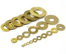600 Pieces M3 x 6 x 0.5mm Brass Flat Washer