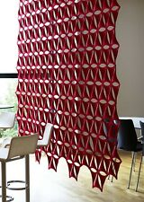 airflake blade open accustic curtain panels packs of ten