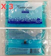 """Cardinal Health Reusable Hot/Cold Gel 3-Pack XS 2.5""""x5"""" X-Small JACK FROST 61115"""