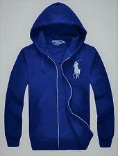 New NWT Mens Ralph Lauren Polo Big Pony Hoody Hooded Fleece Jacket 2XL