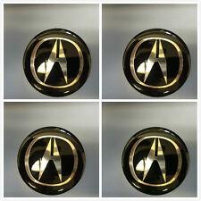 OA65-B 4X Fit Acura MDX CL TL WHEEL CAPS Alloy EMBLEM Badge Stickers NEW