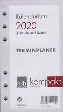BSB 02-0058 A6 Kalender Ersatzeinlage