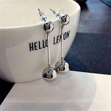 Women Bling Ball Earrings Long Chain Drop Dangle Fashion Earrings Jewelry FT