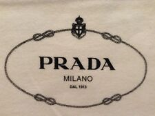 BNWOT PRADA DUST BAG SLEEPER BAG SHOE BAG PROTECTOR BAG DRAWSTRING AUTHENTIC NEW