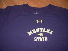 Montana State Bobcats Under Armour Youth Large Performance Shirt MSU Bozeman MT
