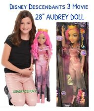 Disney Descendants 3 Movie 28-in AUDREY DOLL My Size Villain Exclusive GIFT SET