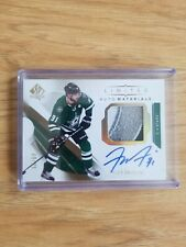 Tyler Seguin 2018-19 SPA Limited Auto Materials 9/25 3 Color Chest Crest Patch!