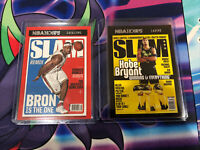 2020 2021 Hoops Lebron James and Kobe Bryant SLAM cards lot of 2