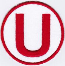 """Club Universitario de Deportes La """"U"""" Peruvian Peru Football Badge Patch"""