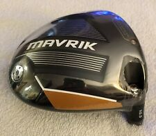 Callaway Maverik Driver 10.5* Brand New in Plastic Wrapper *Head Only* R H