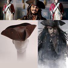 von Pirates of the Caribbean Jack Sparrow´s braun Hut für Cosplay
