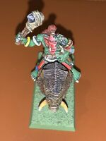 Savage Orc Boar Boy Warhammer Fantasy, AoS Etc, Painted, Missing Tail