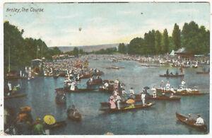 Henley, the Course, 1906 postcard