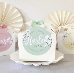 Personalised Activity Box | BLOSSOM | Kids Wedding Party Gift Bag Boxes