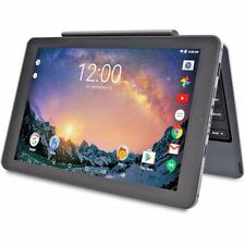 "2-in-1 Tablet Detachable Keyboard RCA Galileo Pro 11.5"" 32GB Android 6.0, BLACK"