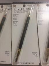 LOT OF 3 - Maybelline Revitalizing Eye Liner Eyeliner Pencil CHARCOAL SUEDE NEW
