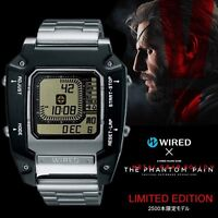 WIRED Metal Gear Solid The phantom pain 5 Watch AGAM601 Japan NEW
