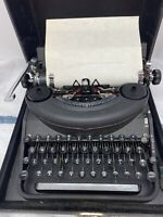 Antique Remington Noiseless Number 7 Typewriter With Case And Owners Manual