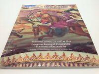 Wm Doyle Auction Catalog Important English Continental Furniture Jan 29 1997
