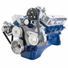 Ford FE Serpentine Kit High Flow Ratio AC Power Steering Alternator 390 427 428