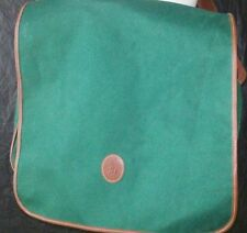 RALPH LAUREN Polo Fragrances Polo Pony Large Canvas Green Cross Over Bag Tote