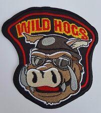 Wild Hogs Motorbike biker Iron on sew On patch transfer fancy dress